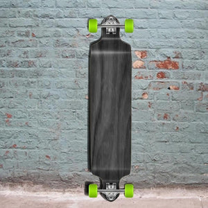 "Stained Black Drop Down Blank 41"" Longboard"