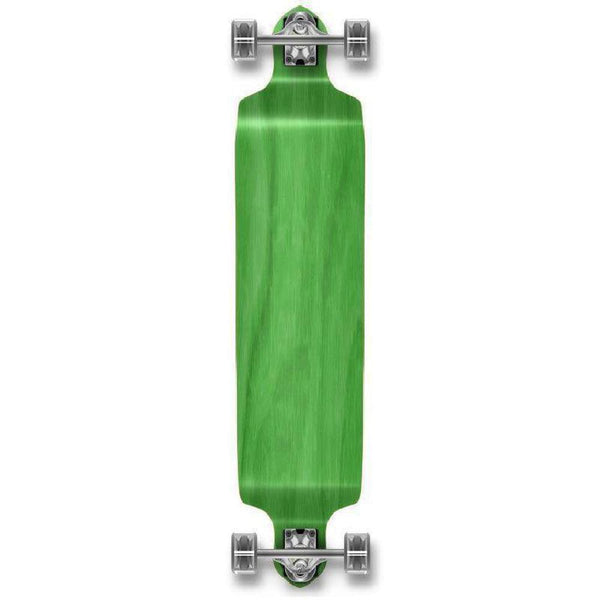 "Stained Green Drop Down  41"" Blank Longboard - Longboards USA"