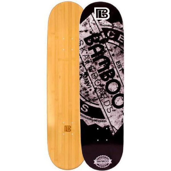 Stamp Bamboo Skateboard by Bamboo Skateboards Complete - Longboards USA