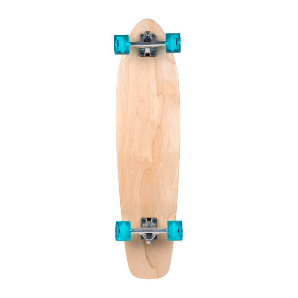 "Stella 38"" Kicktail Blank Natural Longboard - Longboards USA"