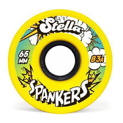 Stella 65mm Spankers Wheels - Longboards USA