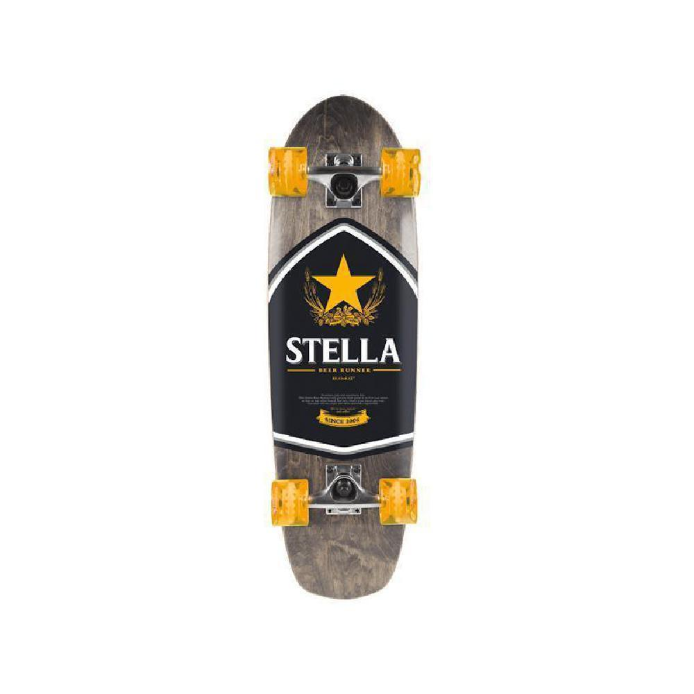 "Stella Beer Runner Biru Cruiser 29"" Longboard Skateboard - Longboards USA"