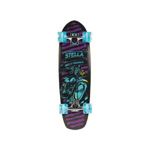 "Stella Beer Runner Night Runner 29"" Cruiser Skateboard - Longboards USA"