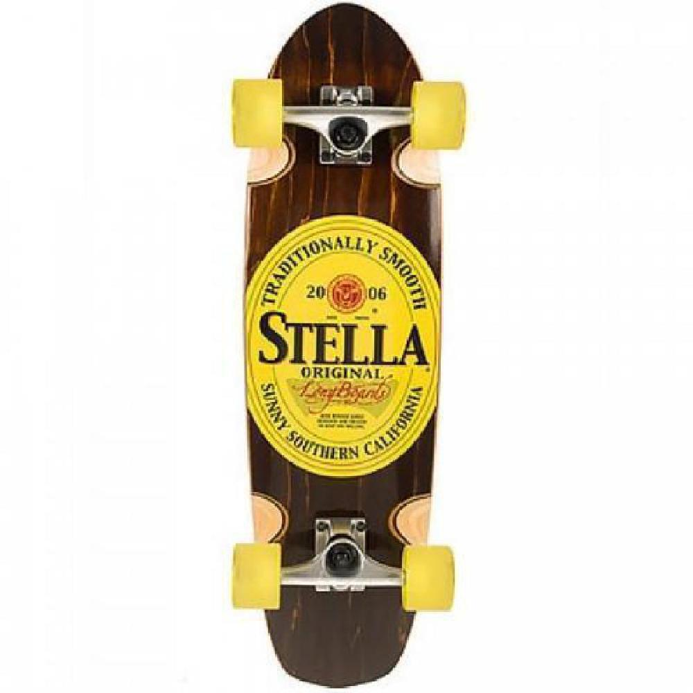 "Stella Beer Runner Stout 29"" Longboard Cruiser - Longboards USA"