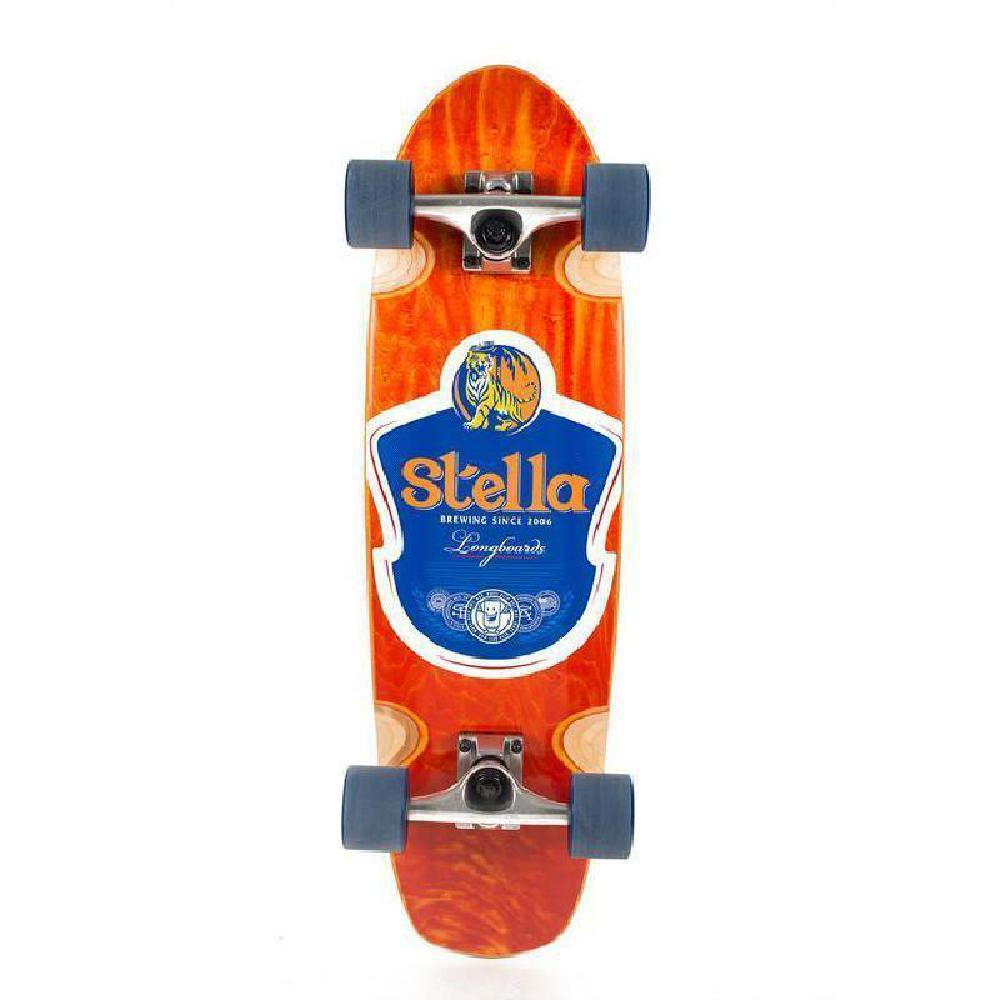 Stella Beer Runner Tigress Longboard Cruiser - Longboards USA