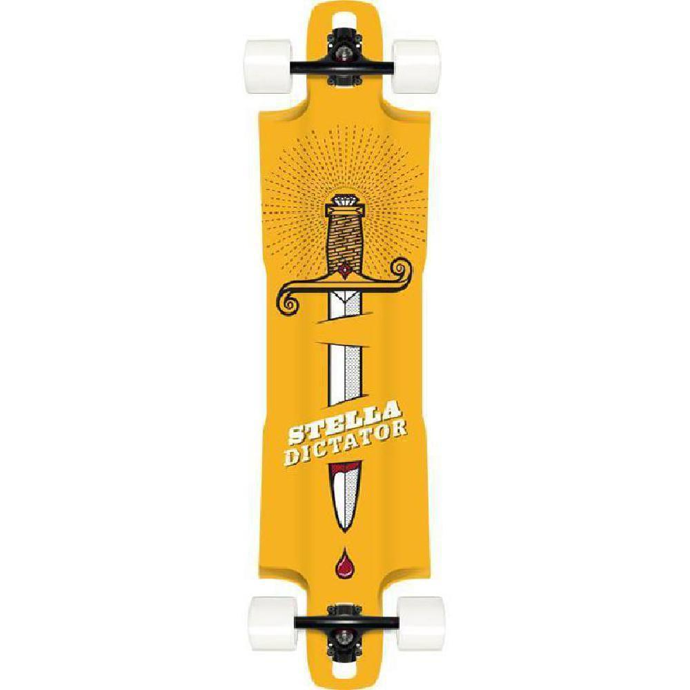 "Stella Dictator 40"" Drop Through Longboard Complete - Longboards USA"