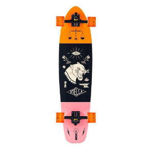 "Stella Panther Kicktail 38"" Longboard Skateboard - Longboards USA"