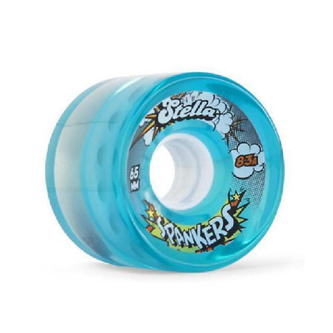 Stella Spankers Longboard Wheels Gel Blue - Longboards USA