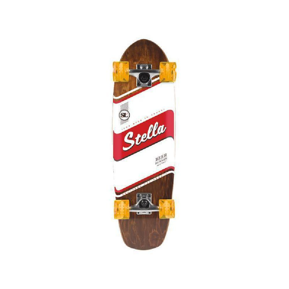 "Stella Stripe Beer Runner Cruiser 29"" Longboard Skateboard - Longboards USA"