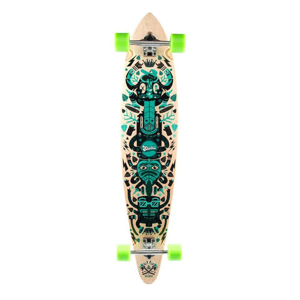 "Stella Totem Pintail Cruiser 46"" Longboard Complete-Longboards USA"