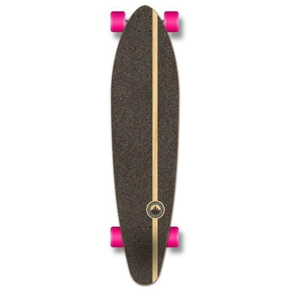 "Surf's up 40"" Kicktail Longboard from Punked - Complete - Longboards USA"