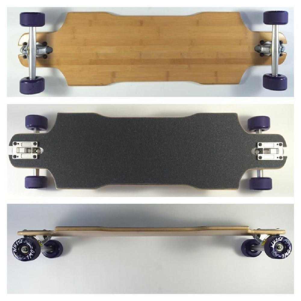 "Suzie Slide Through Bamboo 35.5"" Longboard Complete - Longboards USA"
