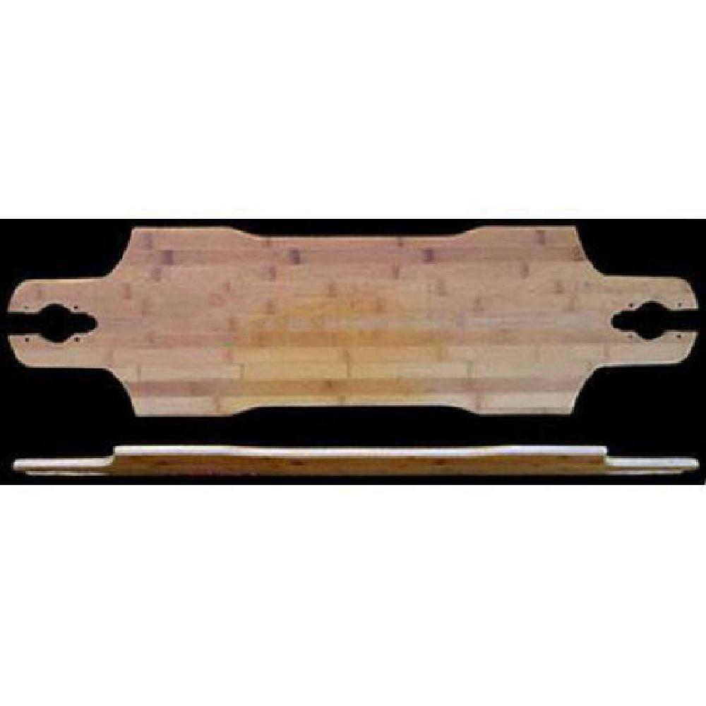 Suzie Slide Through Bamboo 35 inches Longboard Deck - Longboards USA