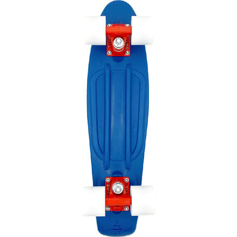 "Swell 22"" Complete Oceans Blue White Mini Skateboard - Longboards USA"