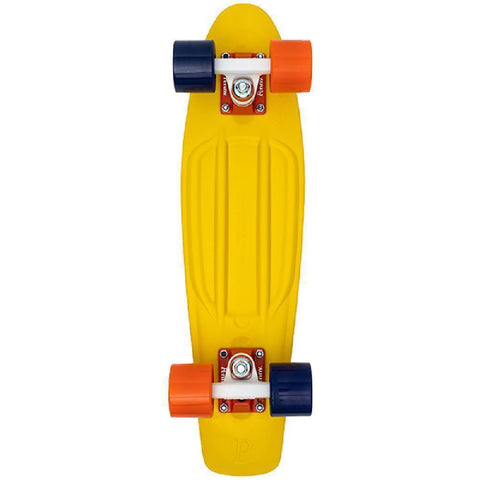 "The Camp Yellow Penny Board 22"" Skateboard - Longboards USA"