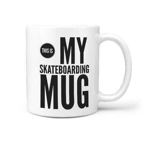 This is My Skateboarding Mug - Funny Coffee Mug - Longboards USA
