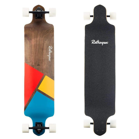 "Tidal Geo Mainstay Drop Down 41"" Longboard - Longboards USA"