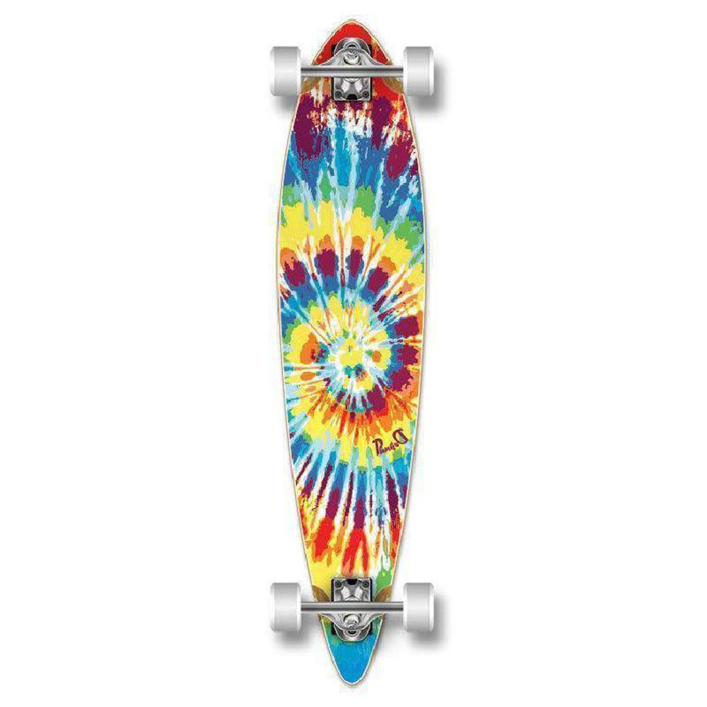 Tiedye Original Pintail Longboard 40 inch from Punked - Longboards USA