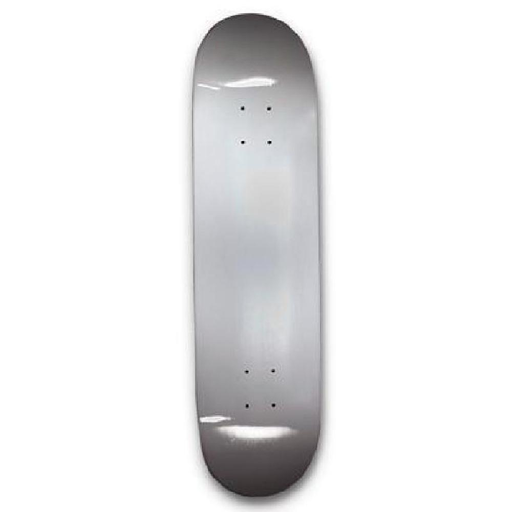 "Titanium colored Skateboard Deck - Blank Dipped Deck - 31"" - Longboards USA"