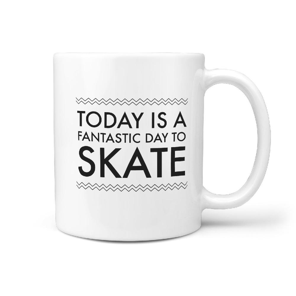 Today is a Fantastic Day to Skate - Coffee Mug - Longboards USA