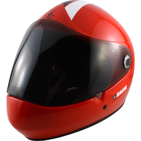 Triple 8 Red Racer Downhill Longboard Helmet - Longboards USA