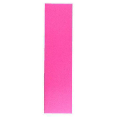 "Vibrant Pink Sheet of Griptape 10"" x 42"" for Longboard Skateboard - Longboards USA"