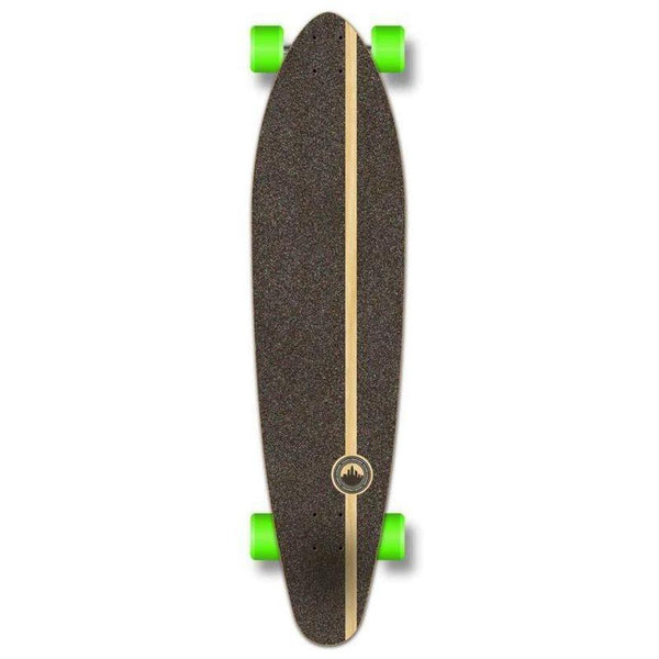 "VW Pink N' Mint 40"" Kicktail Longboard from Punked - Complete - Longboards USA"