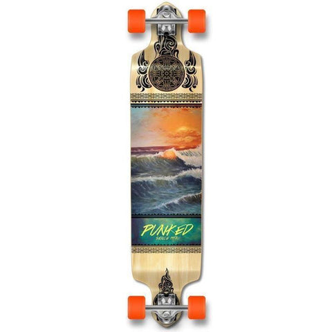 Wave Scene Drop Down Longboard 41 inches Complete - Longboards USA