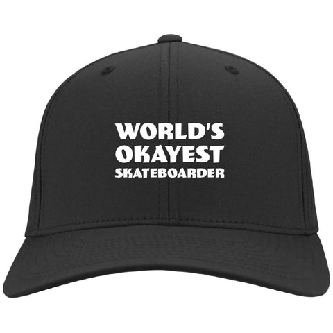 World Okayest Skateboarder Cap - Longboards USA