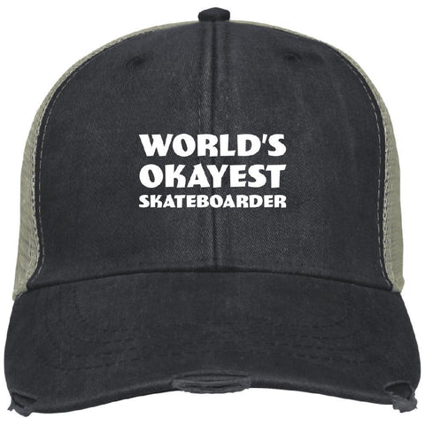 World Okayest Skateboarder Ollie Cap - Longboards USA