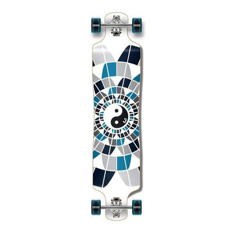 "Yin Yang Lowrider Double Drop 40"" Longboard - Longboards USA"
