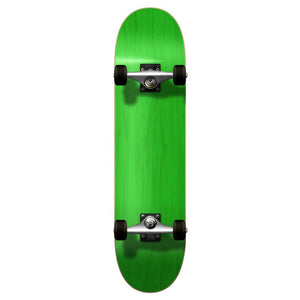 Yocaher Blank Complete Skateboard - Stained Green - Longboards USA