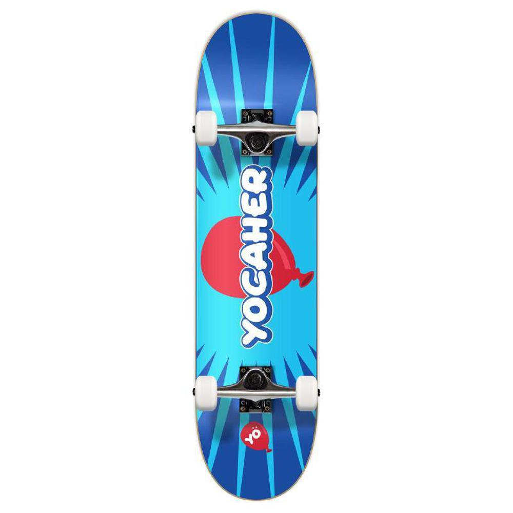 "Yocaher CANDY Series Pop Complete 7.75"" Skateboard - Longboards USA"