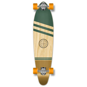 Yocaher Kicktail Longboard Complete - Earth Series - Wind - Longboards USA