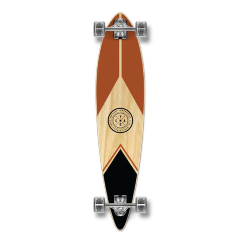 Yocaher Pintail Longboard Complete - Earth Series - Mountain - Longboards USA
