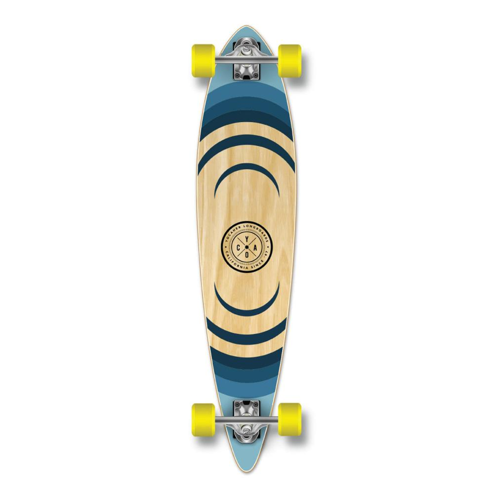 Yocaher Pintail Longboard Complete - Earth Series - Ripple - Longboards USA