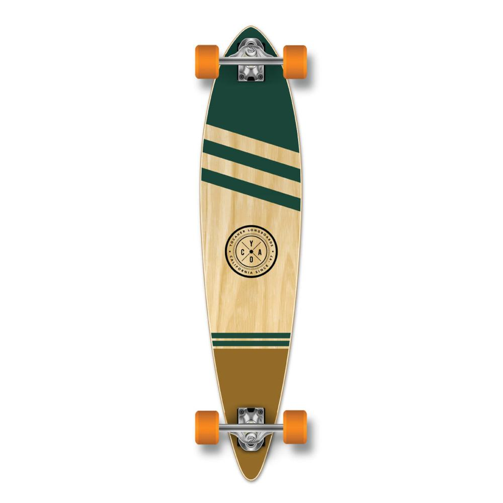 Yocaher Pintail Longboard Complete - Earth Series - Wind - Longboards USA
