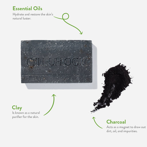 Charcoal & Clay Exfoliating Soap