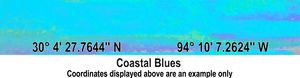 Latitude Longitude - Coastal Blues