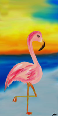 "Flamingo Strut - 10"" Top"