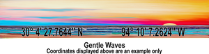 Latitude Longitude - Gentle Waves