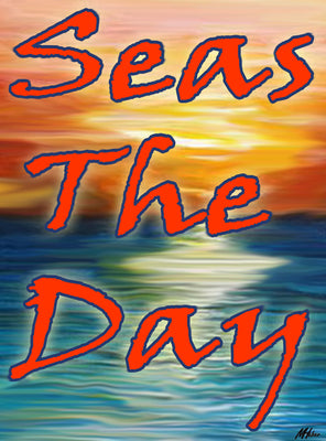 "Seas The Day - 6.75"" Top"