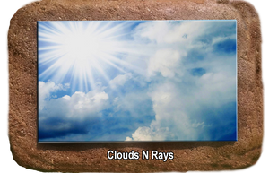Pet Memorial - Clouds N Rays
