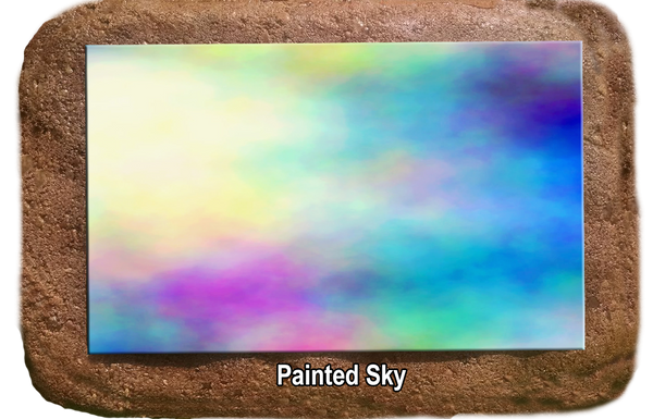 Pet Memorial - Painted Sky