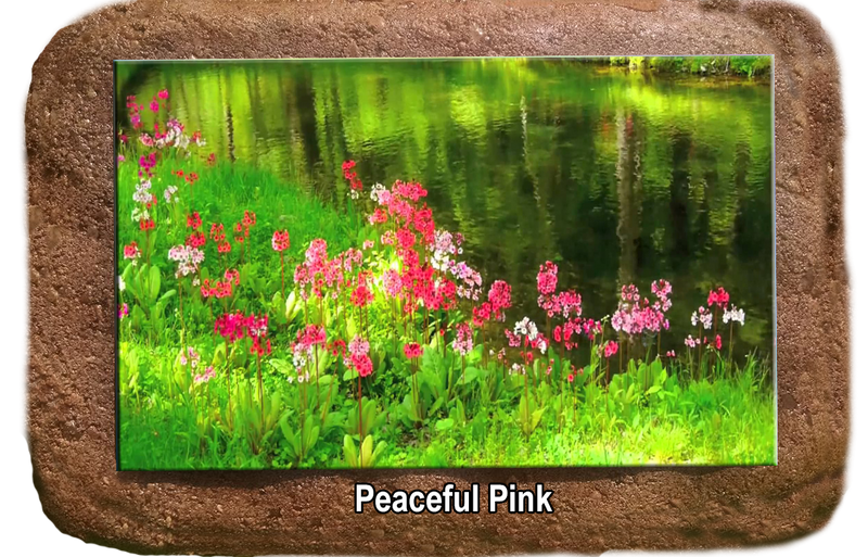 Pet Memorial - Peaceful Pink
