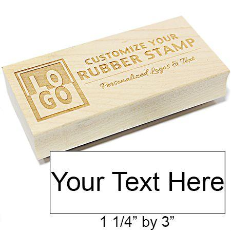 L Rectangle Engraved Stamp