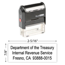IRS Return Address Stamp 14