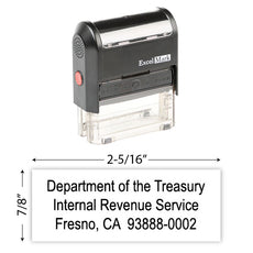 IRS Return Address Stamp 2