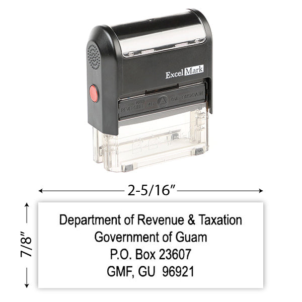 IRS Return Address Stamp 5