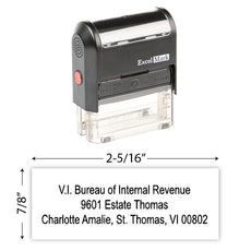 IRS Return Address Stamp 6